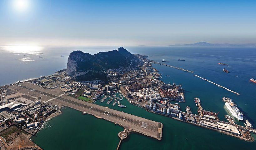 ¿Si estoy en Gibraltar en que país estoy?