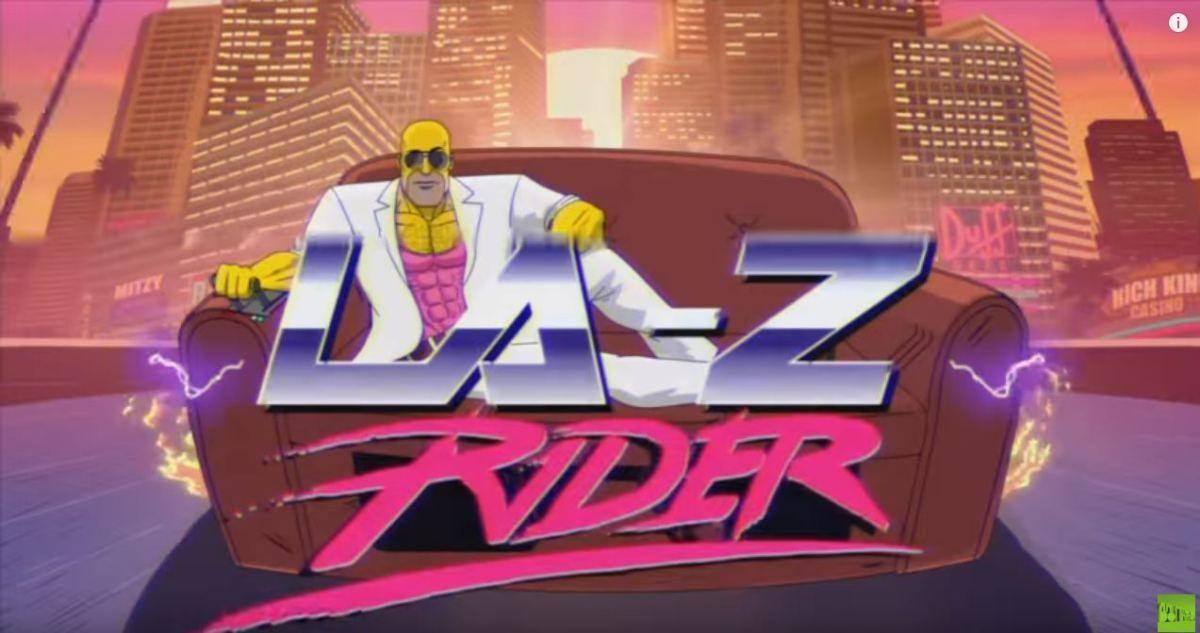 ¿En qué episodio aparece el gag llamado LA-Z Rider?