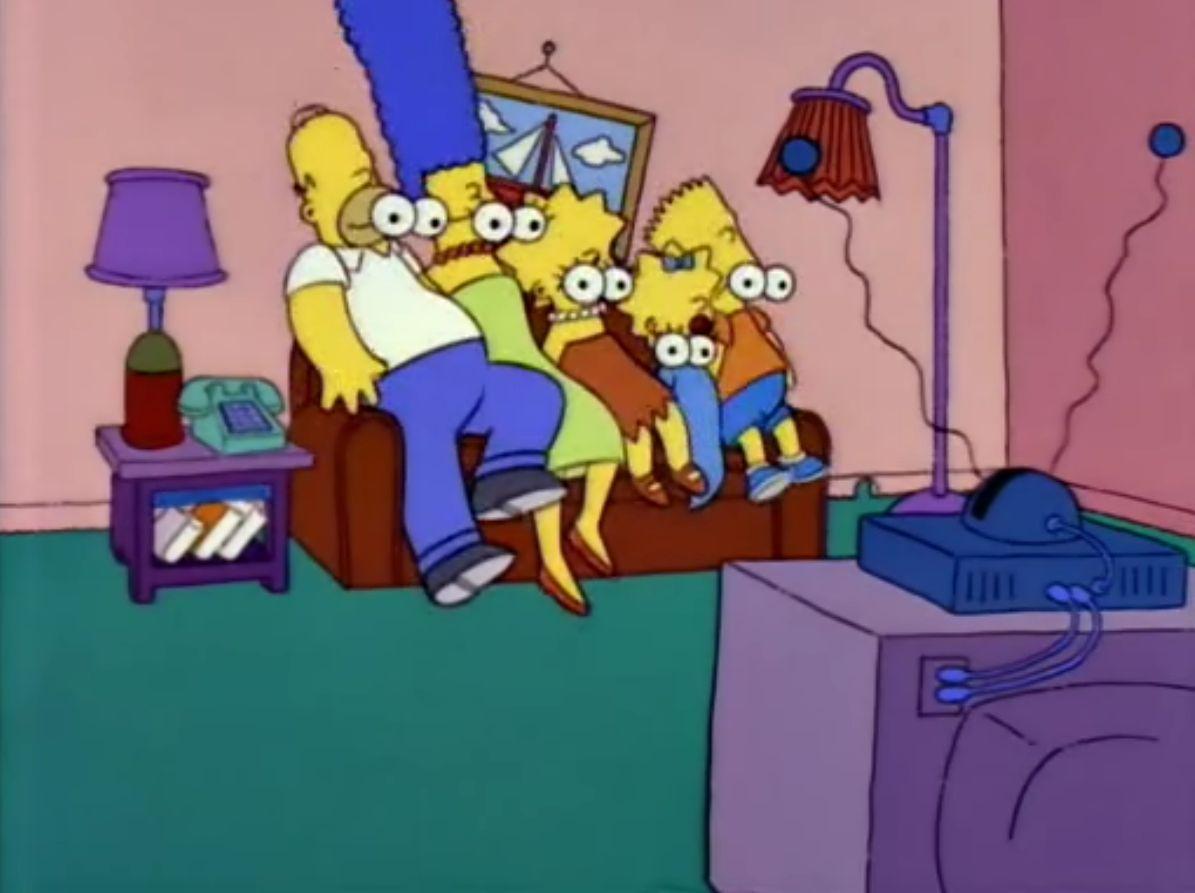 ¿Qué episodio de los siguientes no tuvo gag del sofá?
