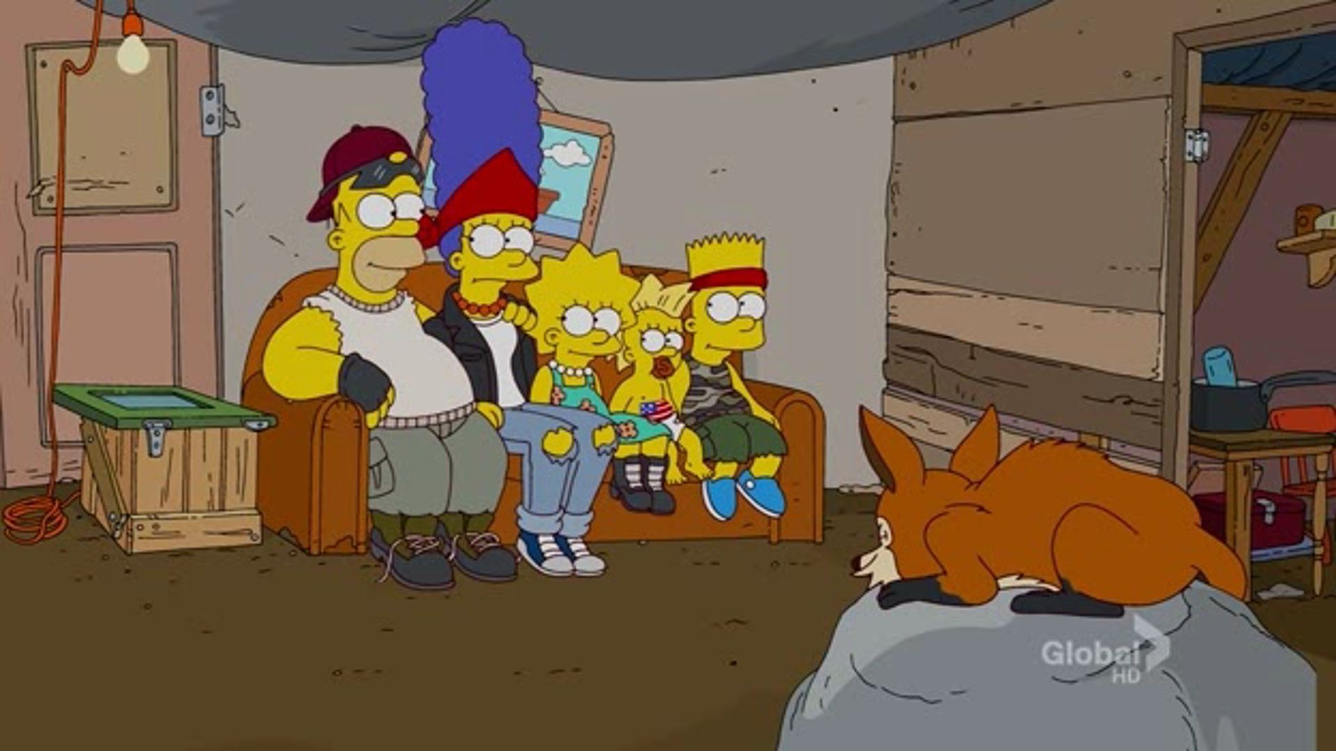 ¿Cuántas veces dentro de un episodio se ha usado un segundo gag del sofá?
