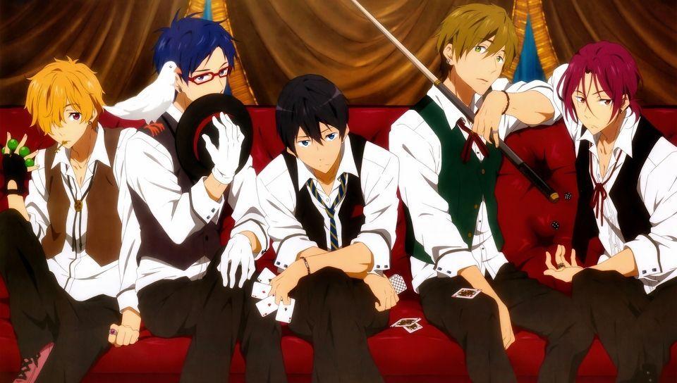 9812 - ¿Conoces a los personajes del anime de Free!?