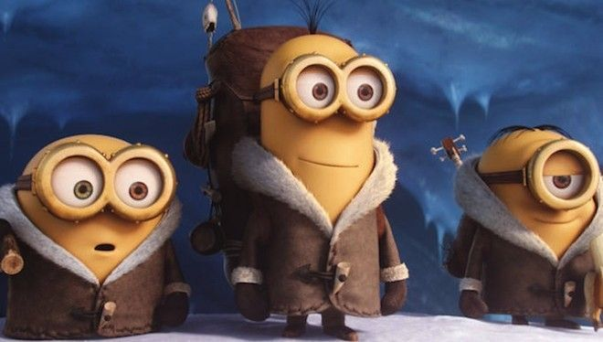 Al llegar a Nueva York, los minions, vestidos con abrigos, deciden cambiarse de ropa. ¿Qué eligen de un tendedero?