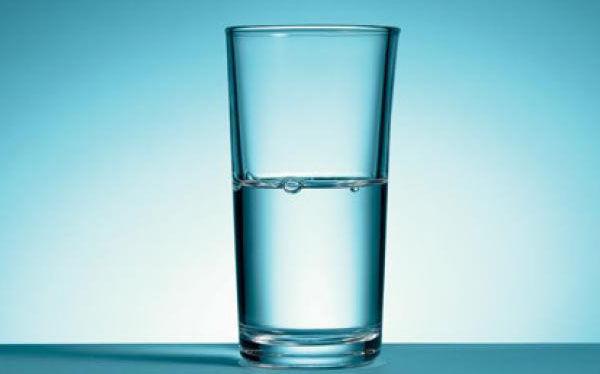 ¿Cómo ves el vaso?