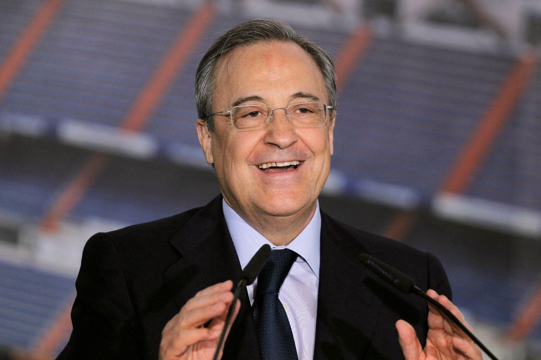 ¿Quienes fueron presidentes del Real Madrid entre los dos mandatos de Florentino Pérez?
