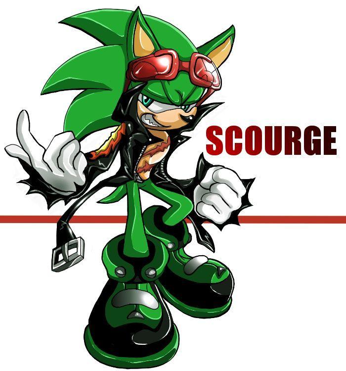 Hablando de los comics, ¿quién es Scourge?