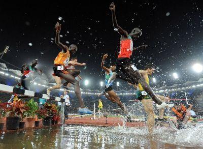 ¿ Cuál es el récord del 3000 obstáculos (masculino)?