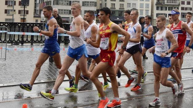 ¿Cuál es el récord de los 20 km marcha (masculino)?