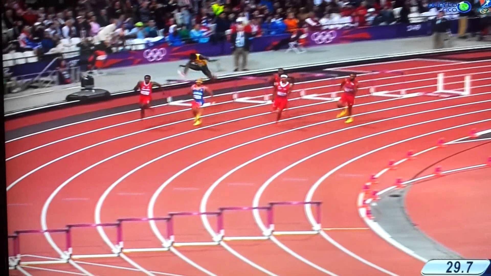 Por último una fácil, ¿cuál es el récord de los 400 metros (masculino)?