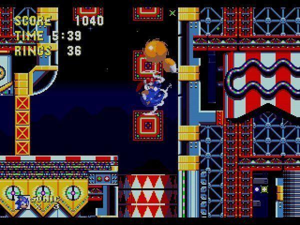 En Carnival Night Zone del Sonic 3, ¿qué debías hacer para bajar con el elevador que se ve en la imagen?