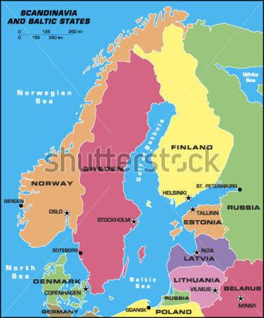 ¿Qué país Báltico no tiene el color blanco en su bandera?
