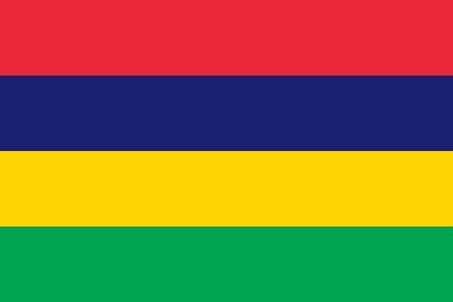¿Qué país no tiene un círculo en su bandera?