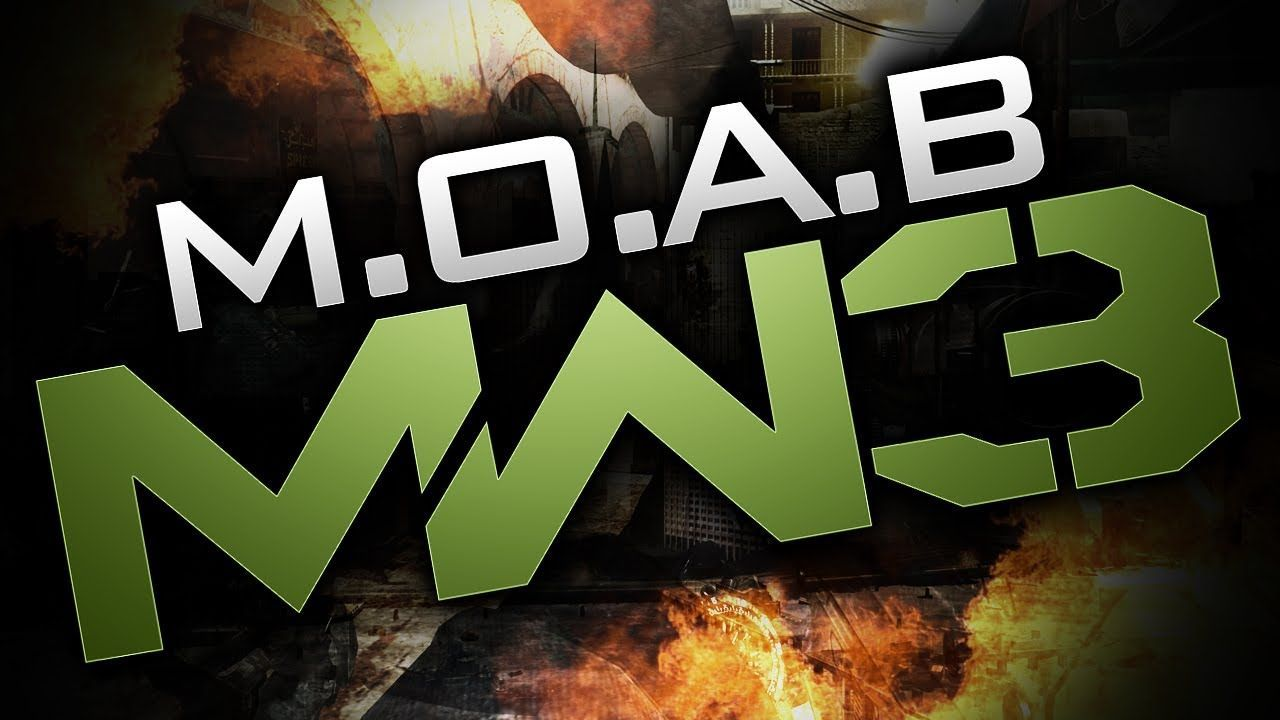 ¿Cuántas M.O.A.B se ha sacado Willirex en todo el COD MW3?