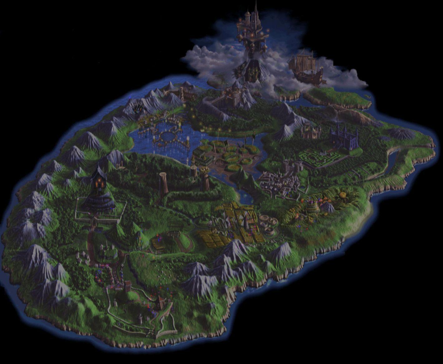 Empezando por una fácil, ¿en qué reino se sitúa la historia de este gran juego?