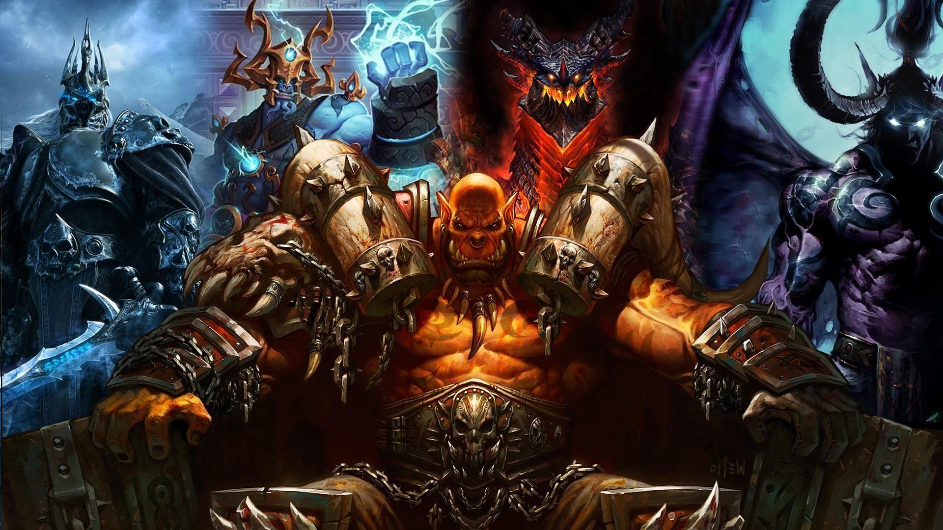 10294 - Villanos del Warcraft. ¿Los reconoces a todos?
