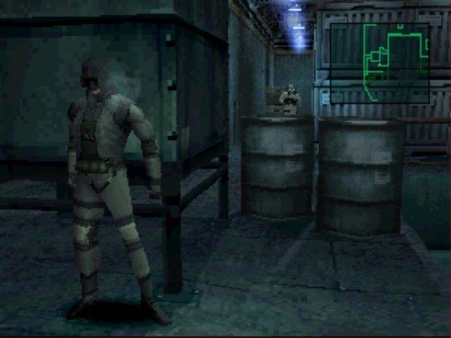 Desde el principio, ¿cuántos enemigos se encuentra Snake en la primera zona del juego?