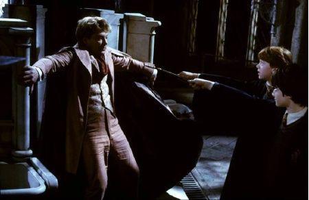 ¿Qué quería hacer Lockhart con Harry y Ron cuando llegaron a La Cámara de Los Secretos?