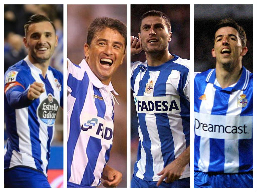 ¿Cuál es actualmente el máximo goleador histórico del Depor entre todas las competiciones?