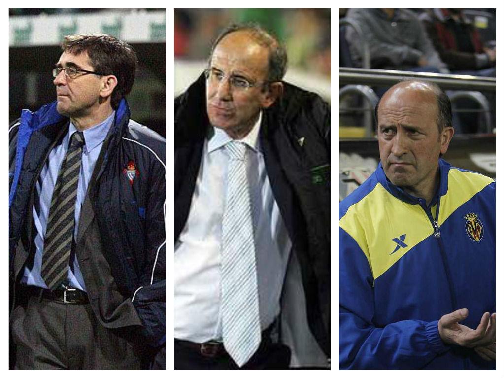 Y para terminar otra muy fácil, ¿cuál de estos entrenadores nunca ha estado en el Depor?