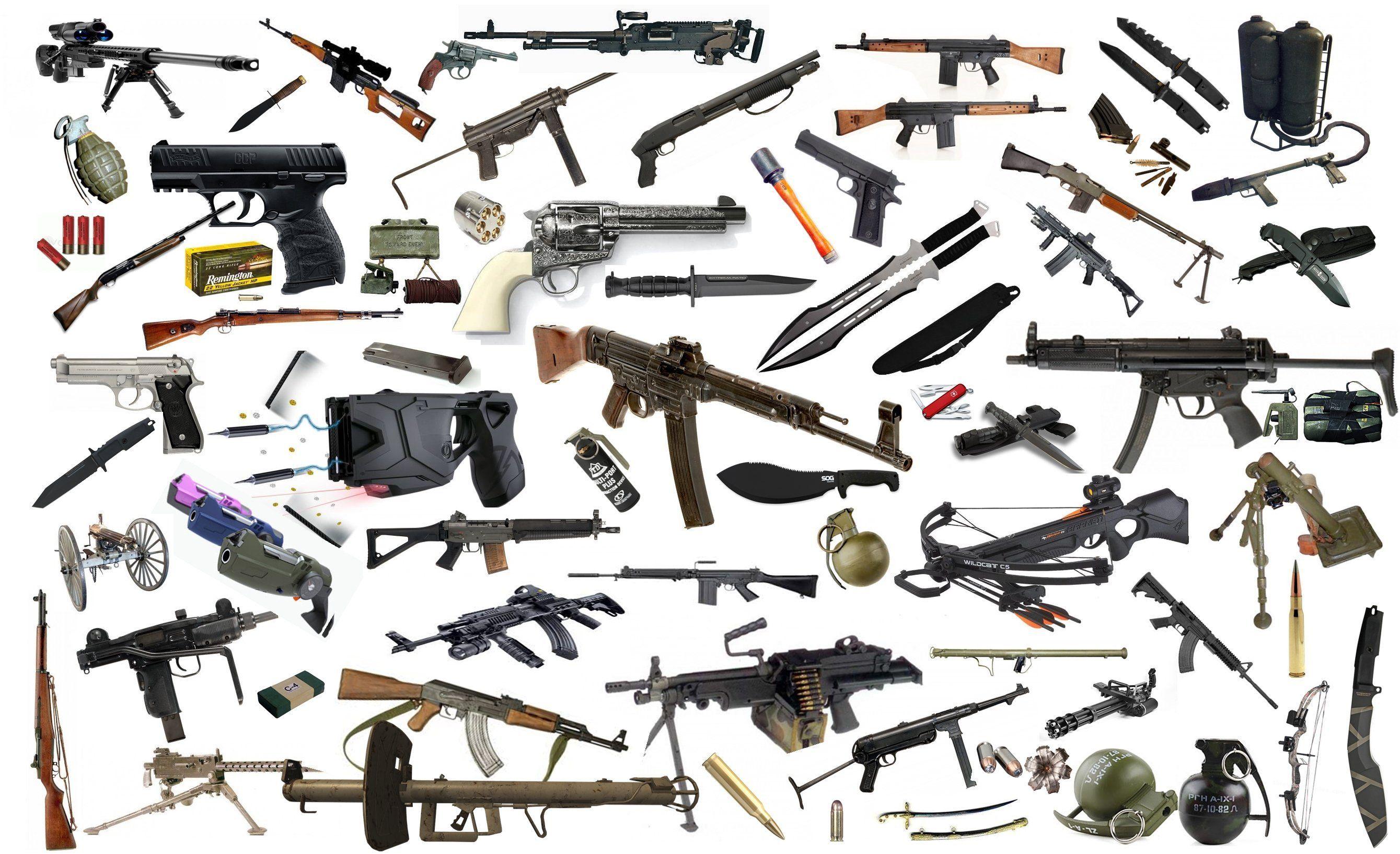 ¿Qué tipo de arma usarías?