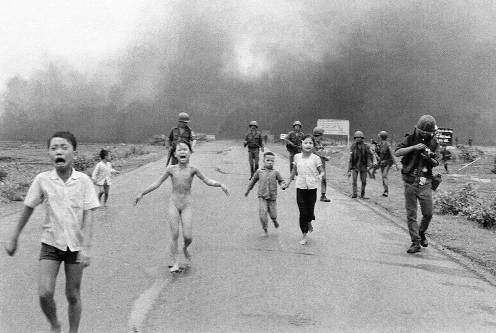 ¿En que guerra se tomó esta foto?