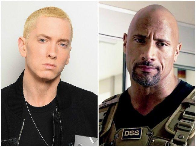 ¿Tienen la misma edad Eminem y Dwayne Johnson?