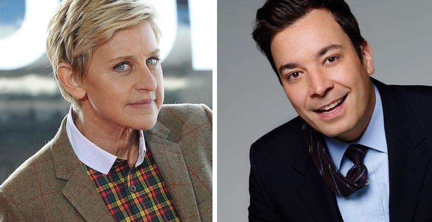 ¿Tienen la misma edad Ellen DeGeneres y Jimmy Fallon?