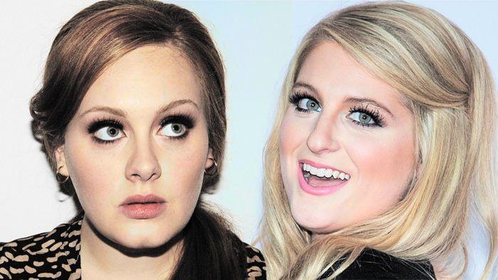 ¿Tienen la misma edad Meghan Trainor y Adele?