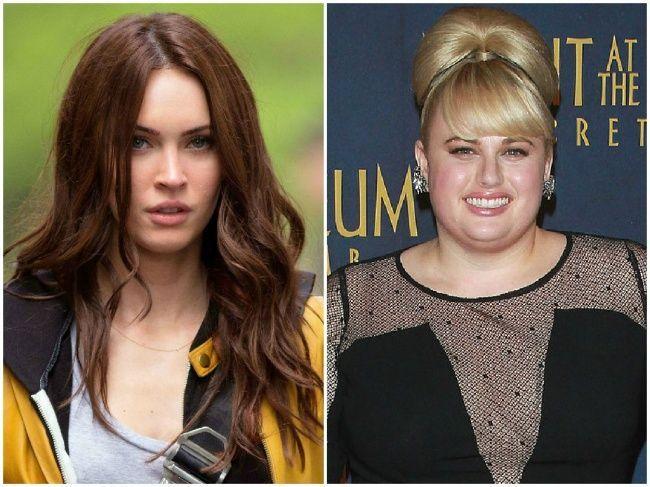 ¿Tienen la misma edad Megan Fox y Rebel Wilson?