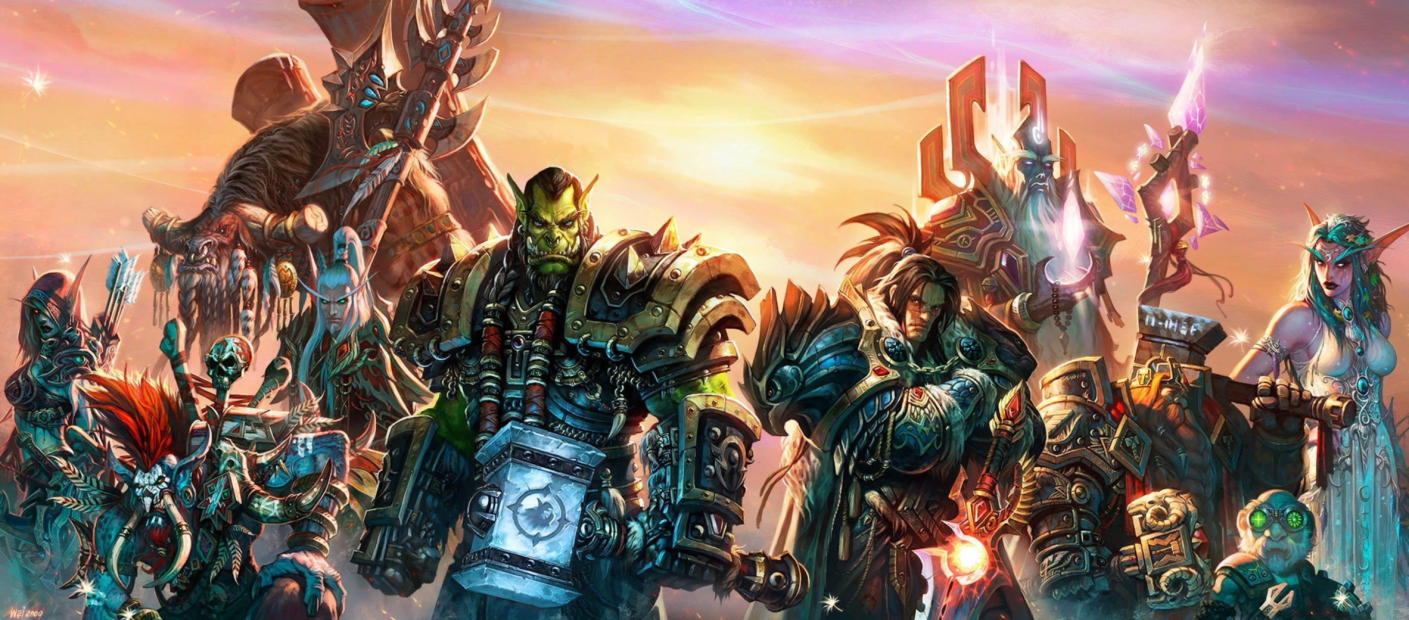 10554 - Héroes del Warcraft. ¿Serás capaz de sabértelos todos?