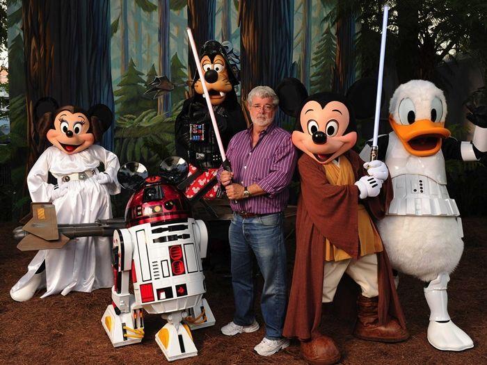 Que George Lucas le haya vendido los derechos a Disney te parece que fue