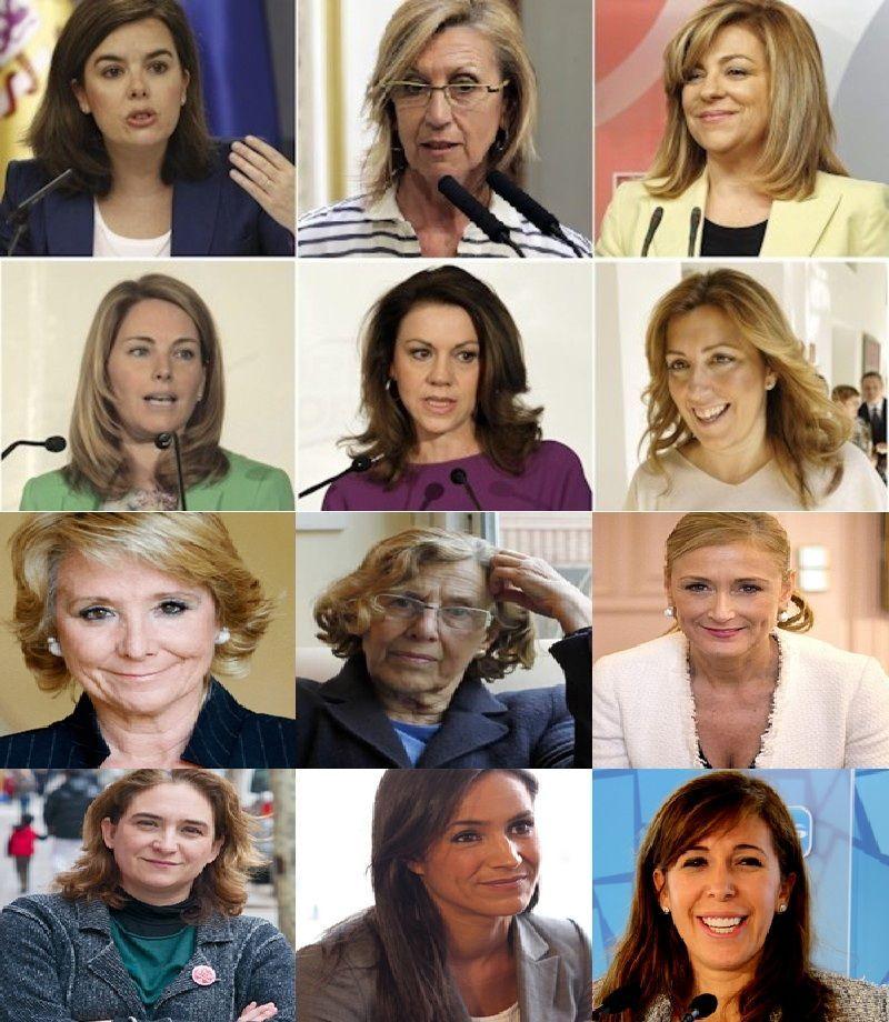 10646 - ¿Sabrías identificar los nombres de estas políticas españolas?