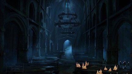 Una facilita para empezar ¿Qué personaje nos muestra la vidriera de la catedral en la primera intro del juego?