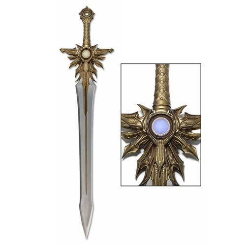 ¿Qué fragmento de la espada de Tyrael fue encontrado en Wortham?