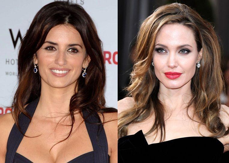 ¿Miden lo mismo Penélope Cruz y Angelina Jolie?