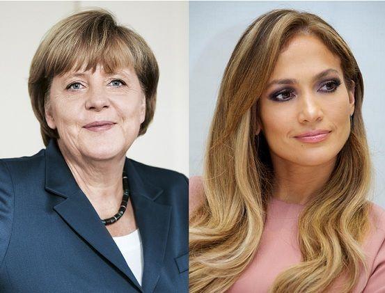 ¿Miden lo mismo Angela Merkel y Jennifer López?