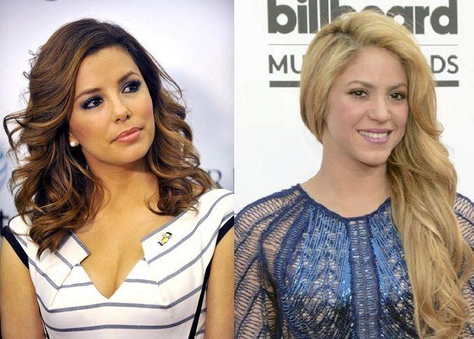 ¿Miden lo mismo Eva Longoria y Shakira?