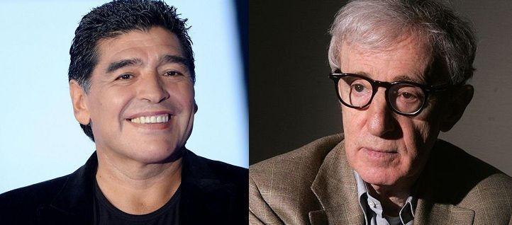 ¿Miden lo mismo Maradona y Woody Allen?
