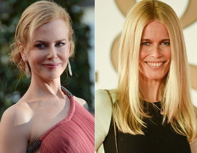 ¿Miden lo mismo Nicole Kidman y Claudia Shiffer?