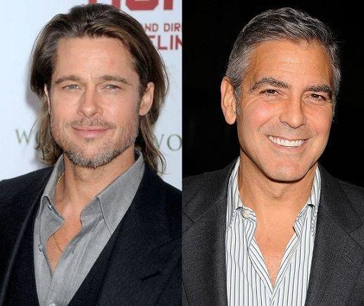 ¿Miden lo mismo Brad Pitt y George Clooney?