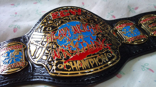 ¿En qué WrestleMania se defendió el Campeonato de ECW por única vez en este evento?