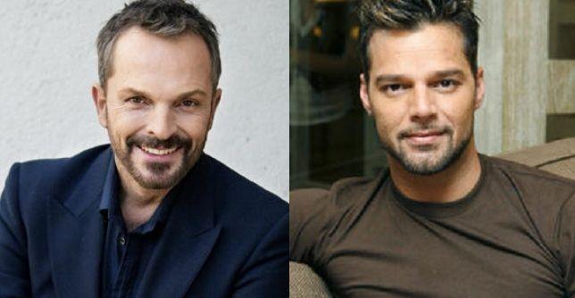¿Miden lo mismo Miguel Bosé y Ricky Martin?