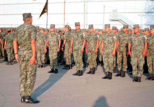 Imagina que eres un soldado. ¿Por qué estás en el ejército?