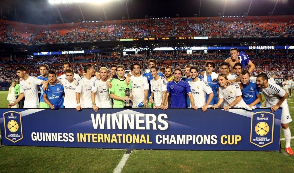 En la pretemporada se jugó la International Champions Cup, ¿cual fue el resultado de la final?