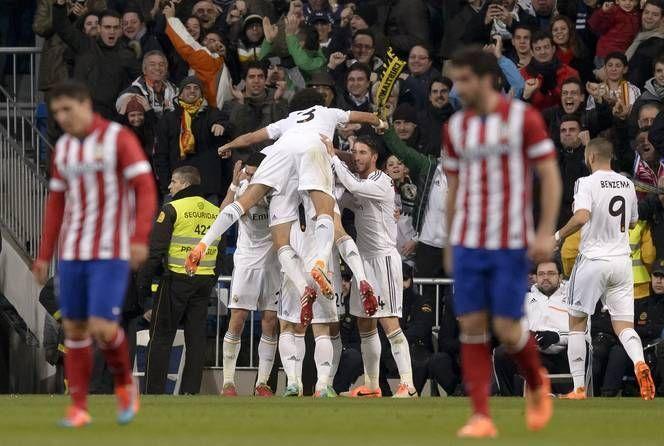 ¿Cuál fue el marcador global de las semifinales de Copa entre Real Madrid y Atlético de Madrid?