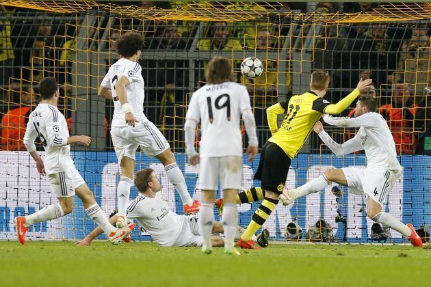 Cuartos de final en Champions League frente al Borussia Dortmund, ¿cuál fue el marcador global de la eliminatoria?