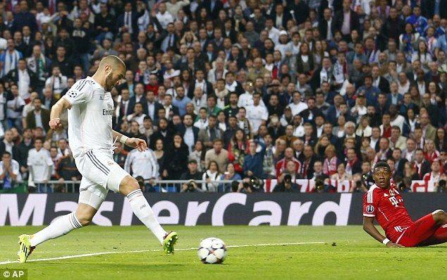 ¿Quién dio la asistencia para el gol de Benzema en la ida de semifinales de Champions frente al Bayern de Múnich?