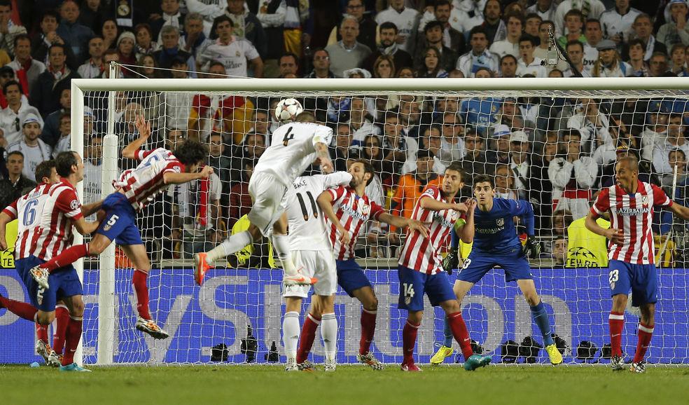 ¿En qué minuto marcó Sergio Ramos el gol de empate que terminó forzando la prórroga en la final de la UEFA Champions League?