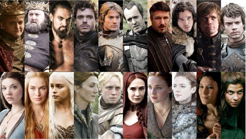 10884 - ¿Sabrías reconocer todas las diferencias entre Juego de Tronos y Canción de Hielo y Fuego? (Facil)