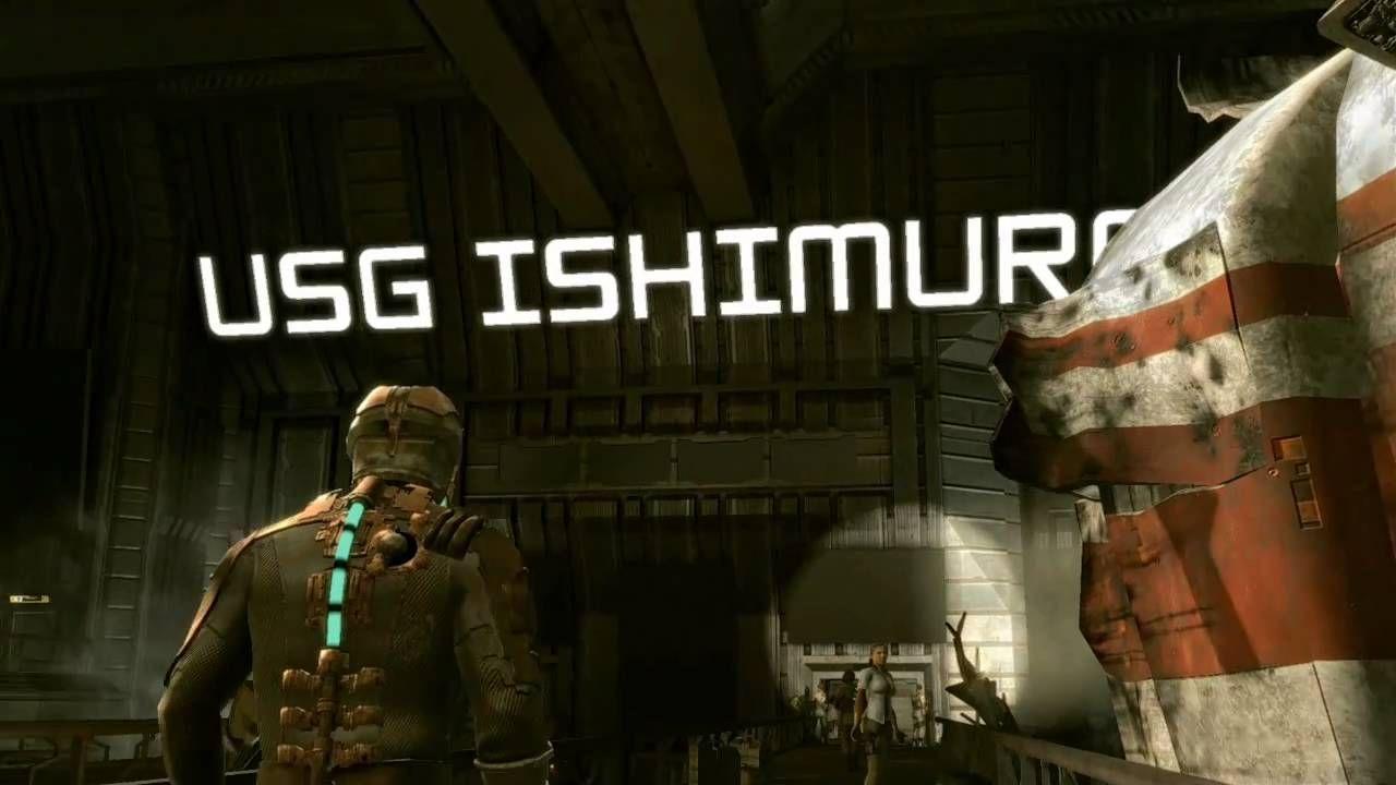 Al principio de Dead Space, ¿Quién comienza a hablar sobre el USG Ishimura?