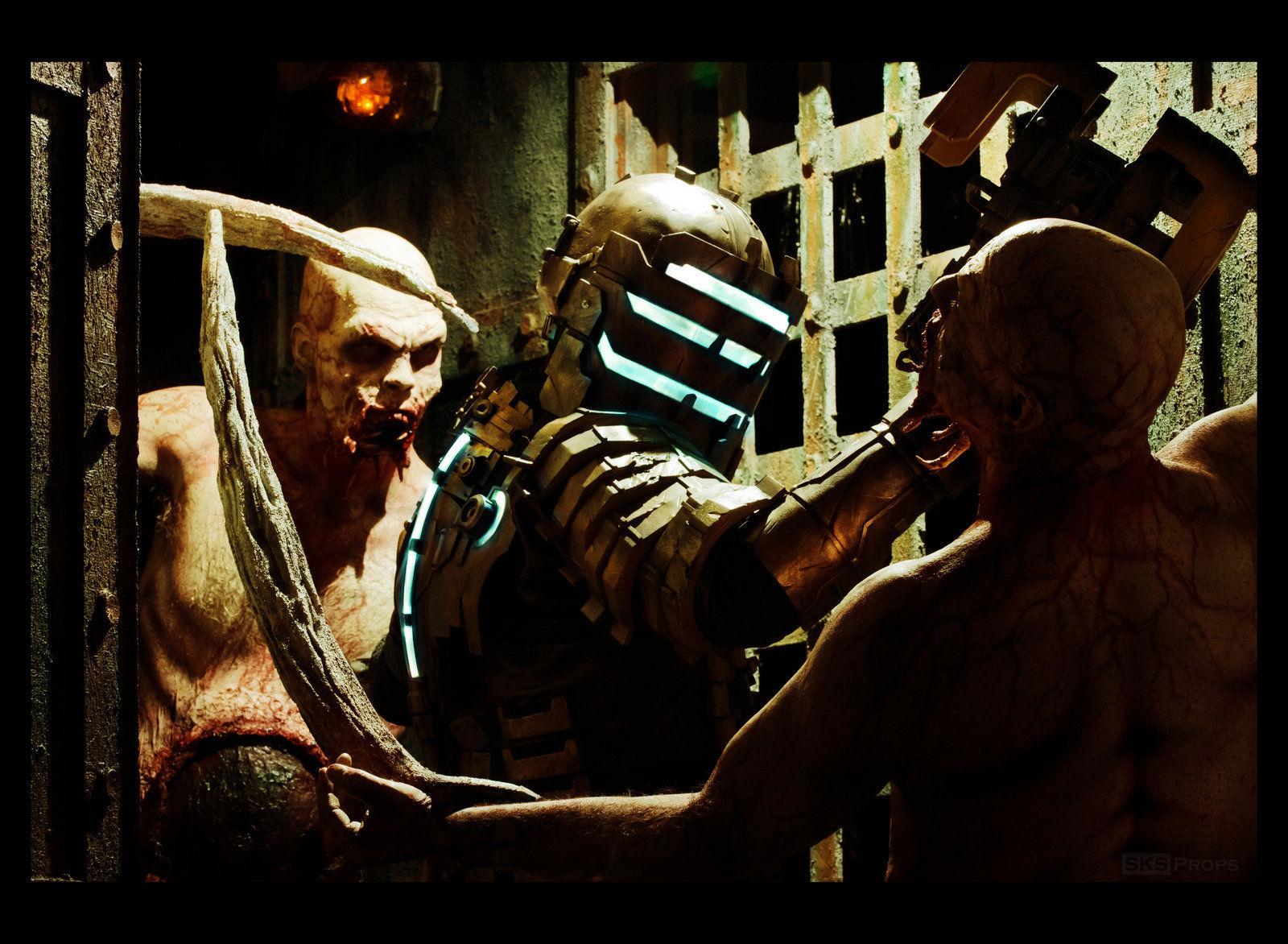 ¿De qué tipo es el primer Necromorfo que encuentra Isaac?